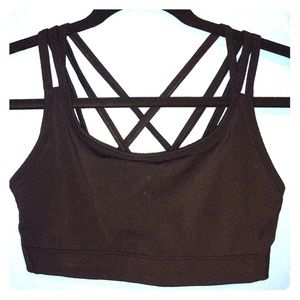 Other - Perfect Gap Fit strappy sports bra athletic top